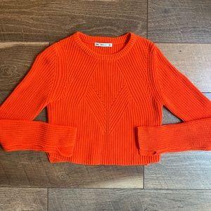 Zara Knit Crop Sweater